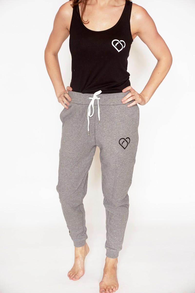 Womens Classic Tracksuit Pants - Grey