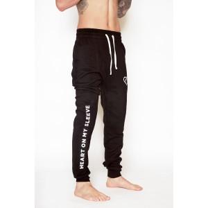 Mens Classic Tracksuit Pants - Black