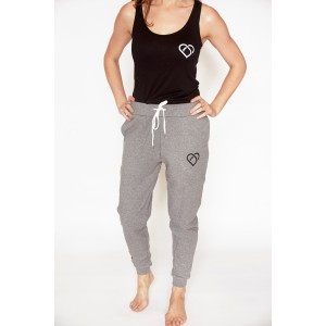 Womens Classic Tracksuit Pants - Grey