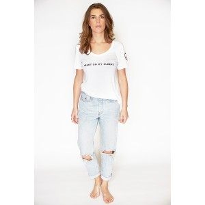 Womens Classic Relaxed T - White