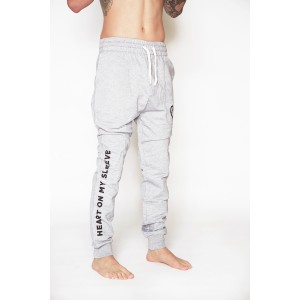 Mens Classic Tracksuit Pants - Grey