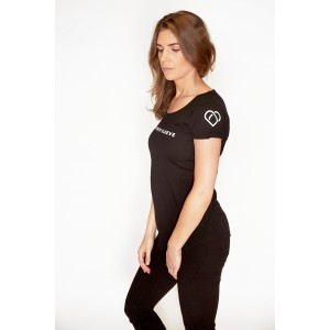 Womens Classic Fitted T - Black