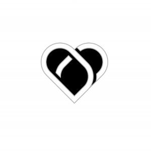 Heart On My Sleeve Lapel Pin